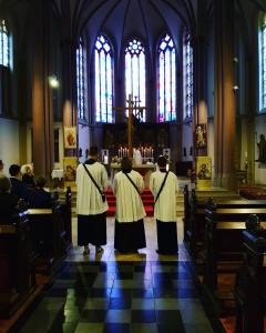 Prozession in St. Maximilian und Ewaldi