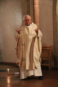 Wir durften eine sehr lebendige Predigt von Pater Gereon hören.